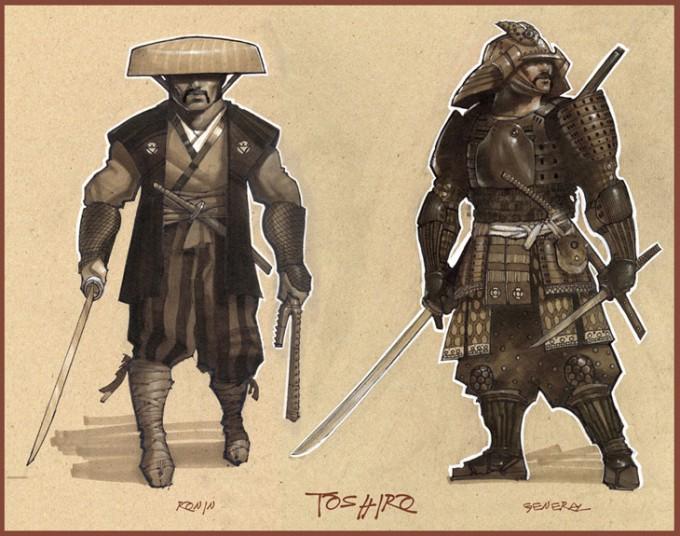 Samurai_Concept_Art_Illustration_01_Armand Baltazar