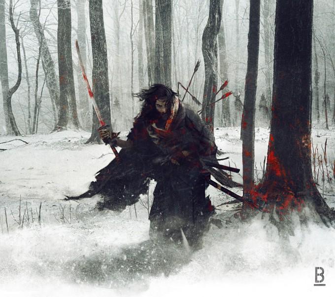 Samurai_Concept_Art_Illustration_01_Benoit_Godde_The_Last_Ronin