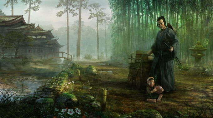 Samurai_Concept_Art_Illustration_01_John_Wallin_Liberto_LWAC