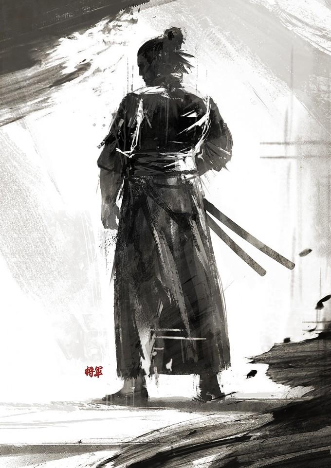 Samurai_Concept_Art_Illustration_01_Juhani_Jokinen