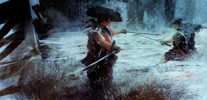 Samurai_Concept_Art_Illustration_01_Levente_Peterffy