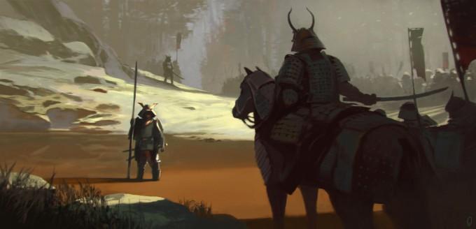 Samurai_Concept_Art_Illustration_01_Mark_Kent
