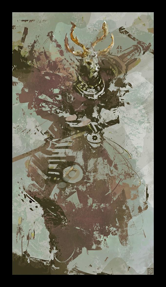 Samurai_Concept_Art_Illustration_01_Nicolas_Ferrand