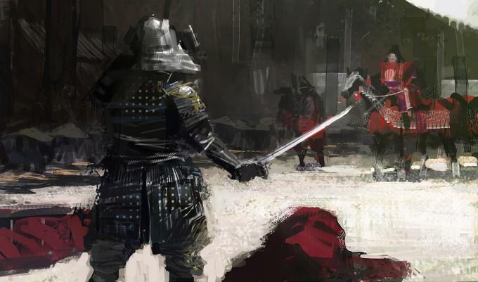 Samurai_Concept_Art_Illustration_01_Paul_Christopher_Shogun_ShowDown