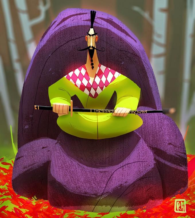 Samurai_Concept_Art_Illustration_01_Rayner_Alencar