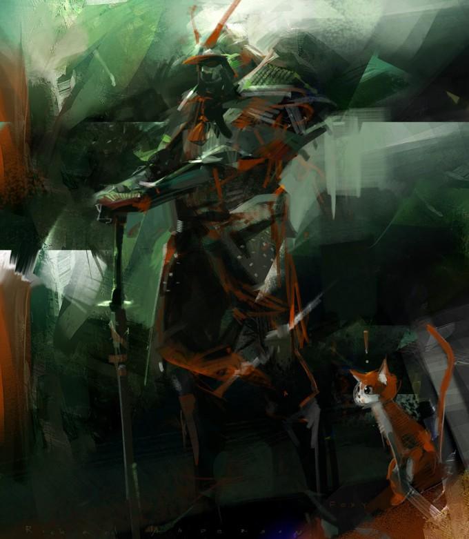 Samurai_Concept_Art_Illustration_01_Richard Anderson