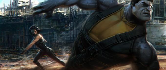 Deadpool_Concept_Art_JJS_Angel_Dust_vs_Colosuss