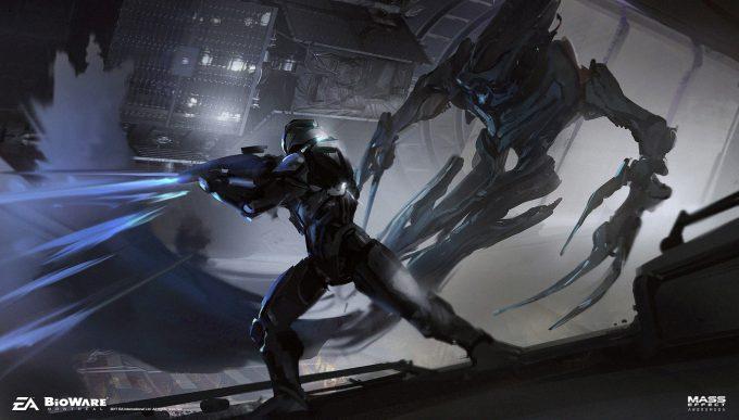 Mass Effect Andromeda concept art ben lo alien exp05 char