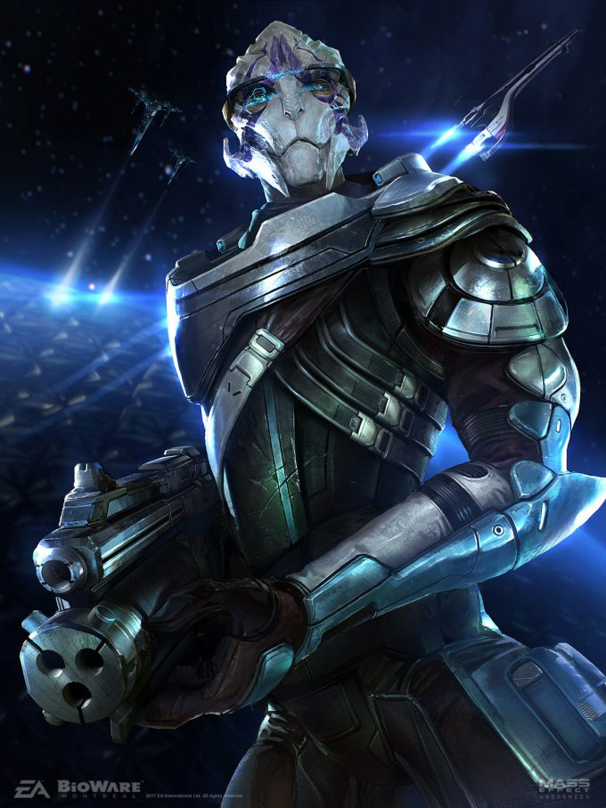 Mass Effect Andromeda concept art ben lo litho 04 vetra posts