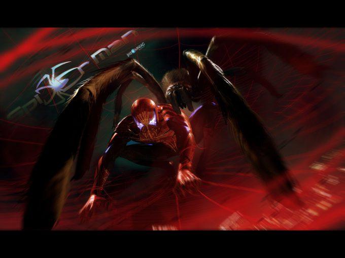 Spider Man Insomniac Games Concept Art Julien Renoult PS4 01