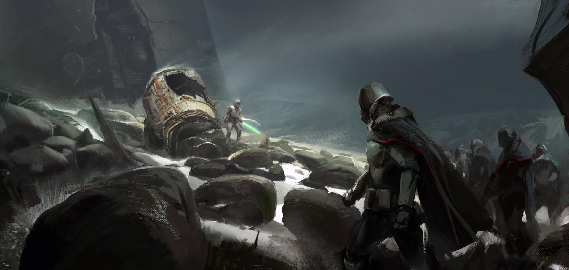 Star Wars Concept Art And Illustrations Ii Concept Art World