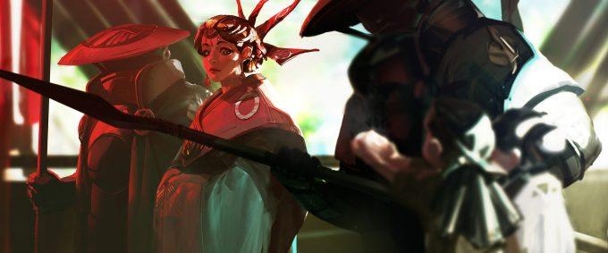 ben lo concept art tribe chosen geisha