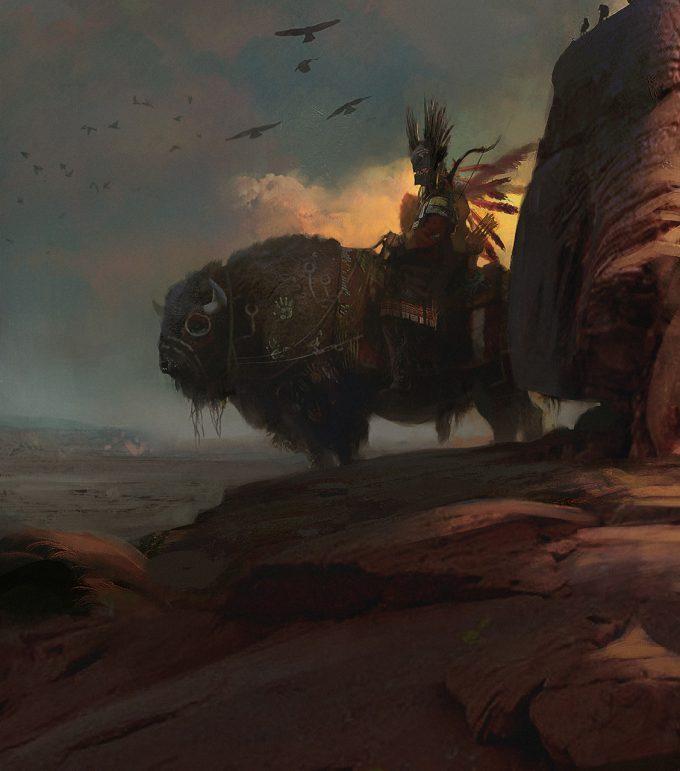 morgan yon concept artnavajo rider 003