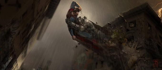 Batman v Superman: Dawn of Justice Concept Art