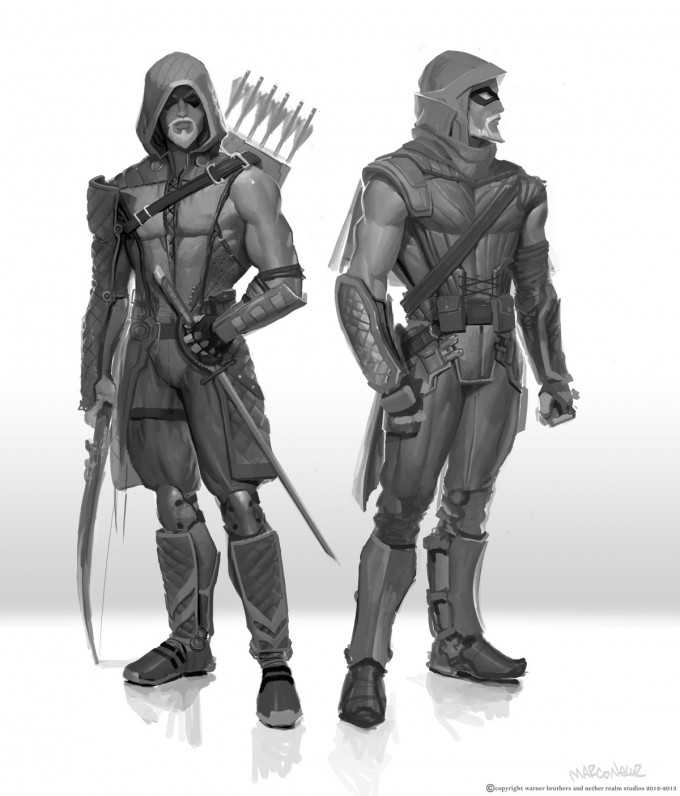 Marco_Nelor_Concept _Art_DC_Injustice_Gods_Among_Us_Green_Arrow