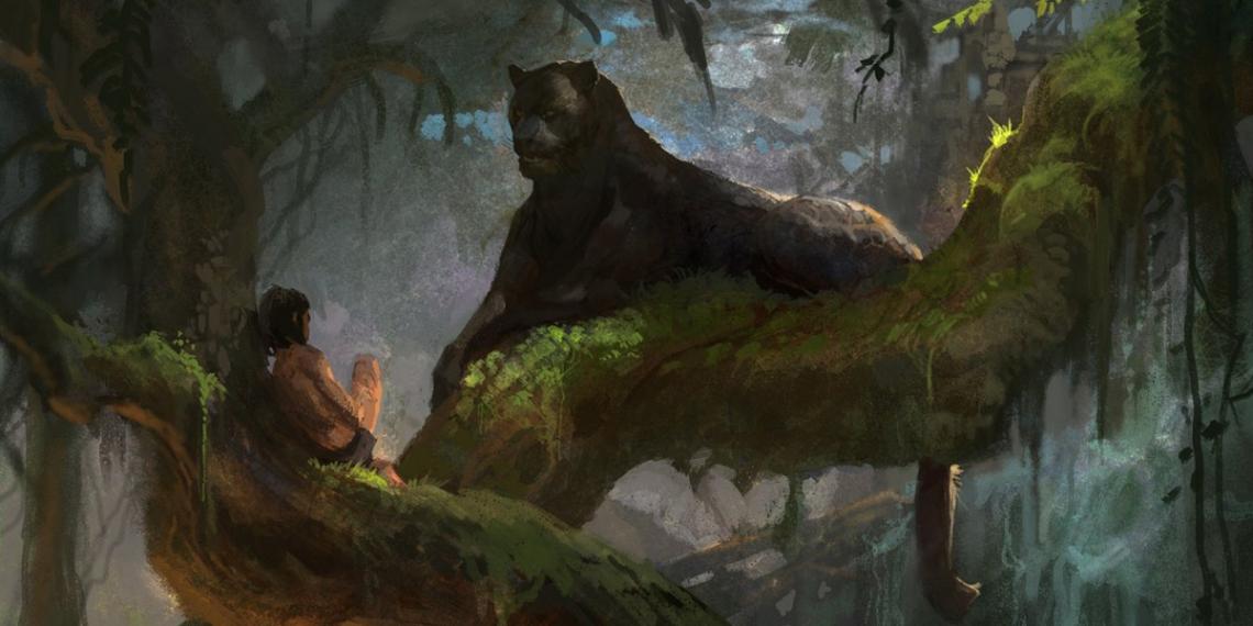 The Jungle Book Concept Art Vance Kovacs M01