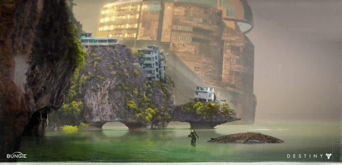 Bungie-Destiny-concept-art-joseph-cross-venus-shore-year-1