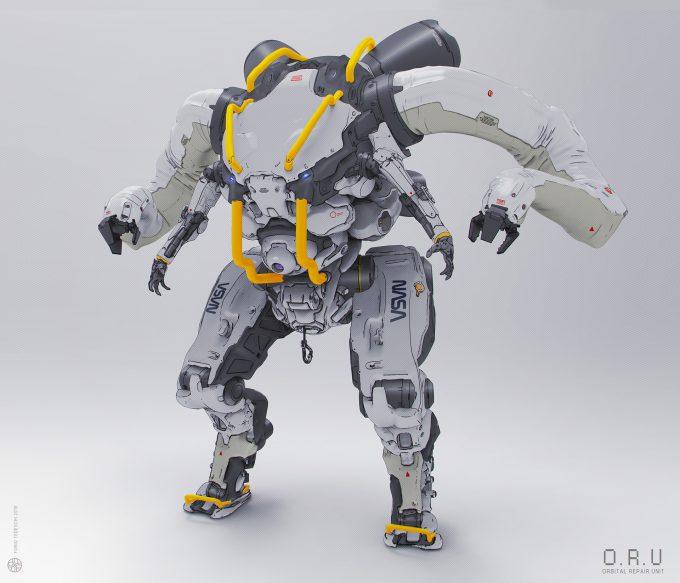 Furio_Tedeschi_Concept_Design_NASA_ORU_Orbital_Repair_Unit