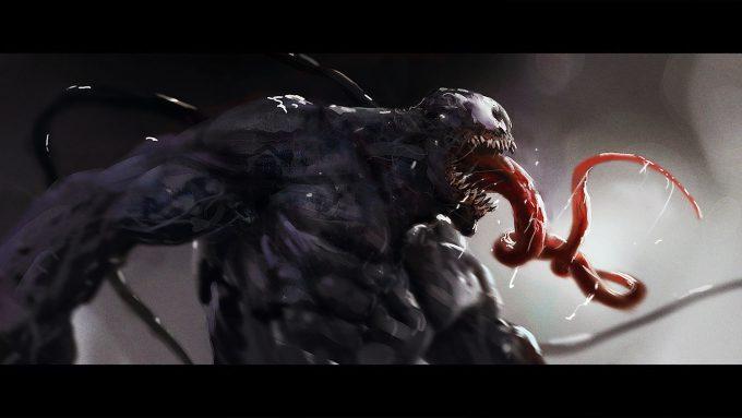 Venom sketch spit Brent Hollowell N01