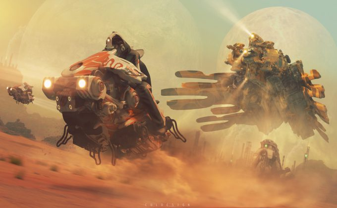 col price concept art the post must get through