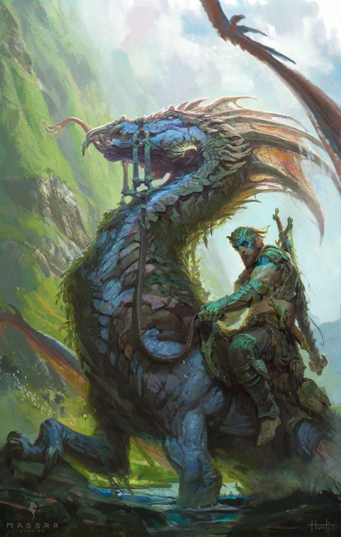 hunter schulz dragon rider small