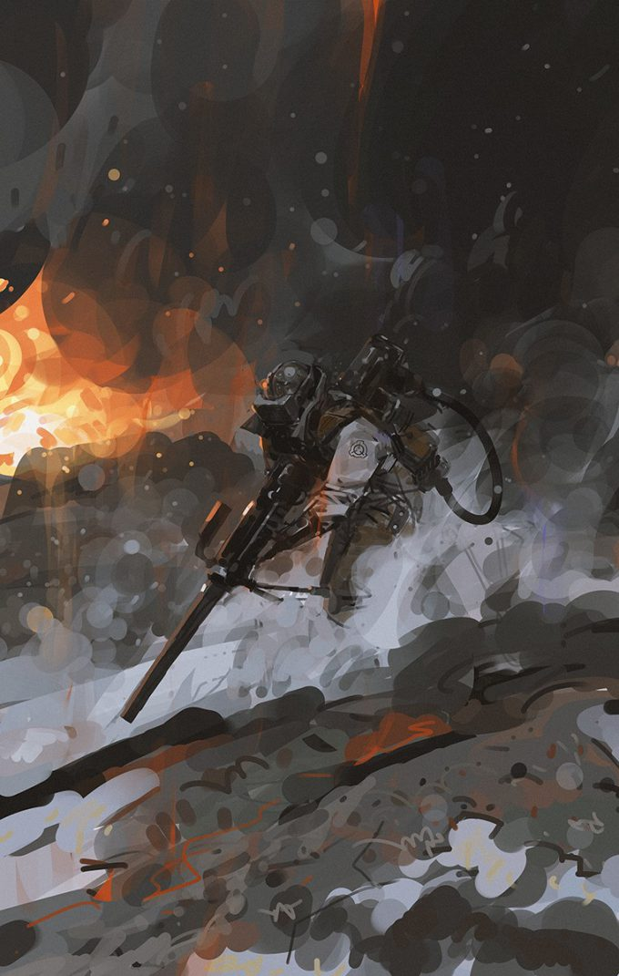 yun ling concept art illustration Containment Breach