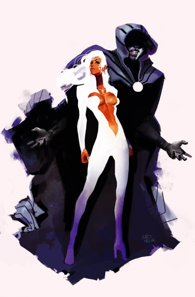 Cloak Dagger Marvel Comic Fan Art Marco Nelor Illustration
