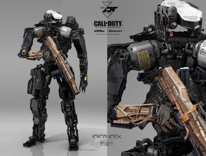 Call of Duty Infinite Warfare Concept Art Aaron Beck C6 X 01