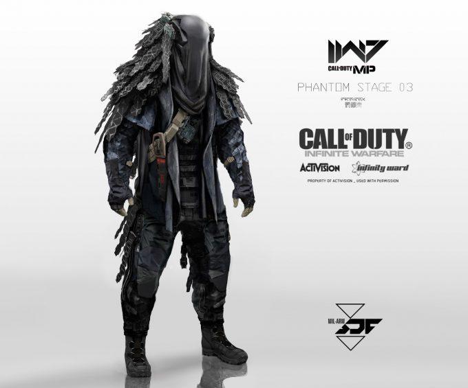 Call of Duty Infinite Warfare Concept Art Aaron Beck Phantom B 01