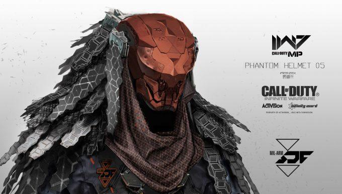 Call of Duty Infinite Warfare Concept Art Aaron Beck Phantom head5 01
