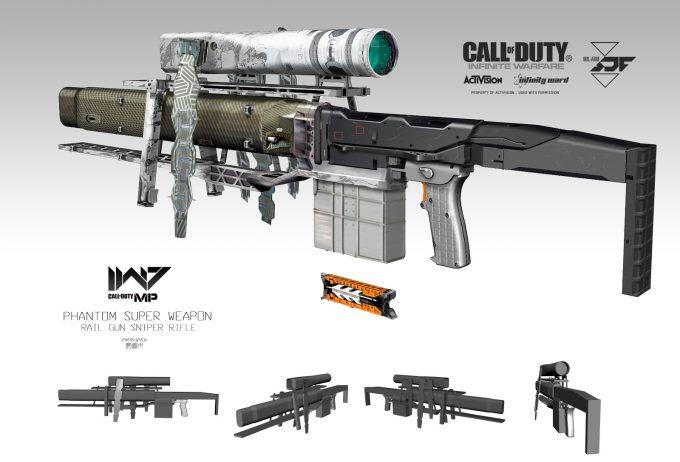 Call of Duty Infinite Warfare Concept Art Aaron Beck Phantom rifle 01