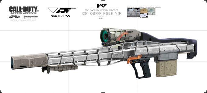 Call of Duty Infinite Warfare Concept Art Aaron Beck SDF sniper WIP 01