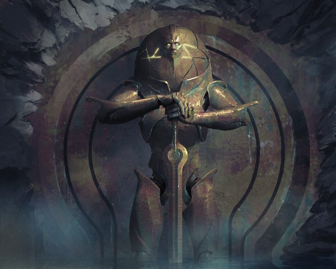 Igor Kieryluk Art Illustration 402571 guardian idol