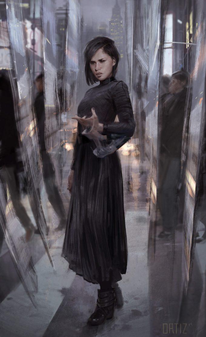 Marvel Doctor Strange Concept Art Karla Ortiz casual