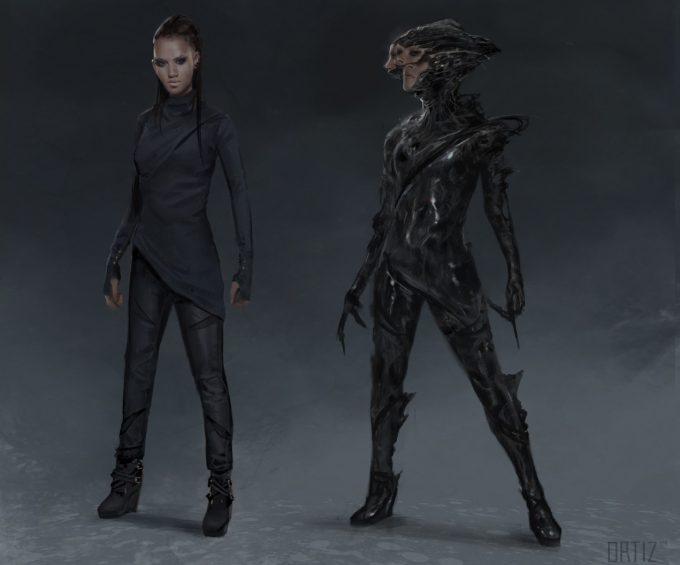 Marvel Doctor Strange Concept Art Karla Ortiz costume a