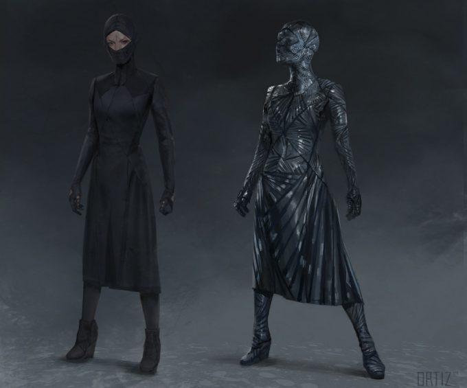 Marvel Doctor Strange Concept Art Karla Ortiz costume b