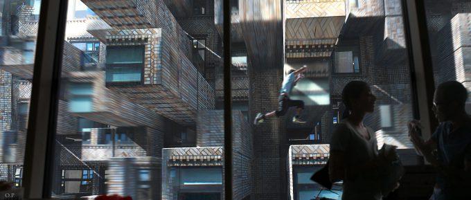 Marvel Doctor Strange Pre Production Concept Art OP 16 localized Maze