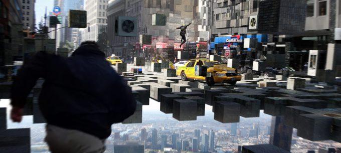 Marvel Doctor Strange Pre Production Concept Art OP Street Chase