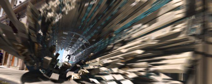 Marvel Doctor Strange Pre Production Concept Art OP through building