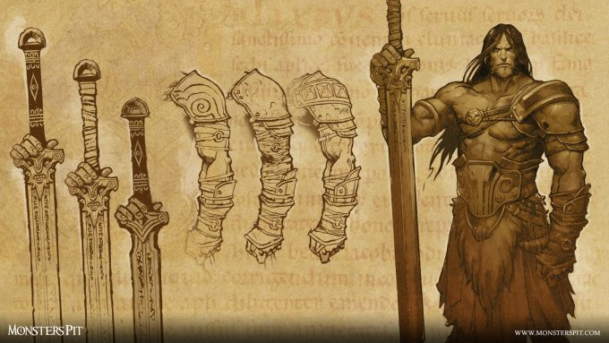 Monsters_Pit_Ccreative_Studio_HQ25th-Barbarian-Sketches-#2