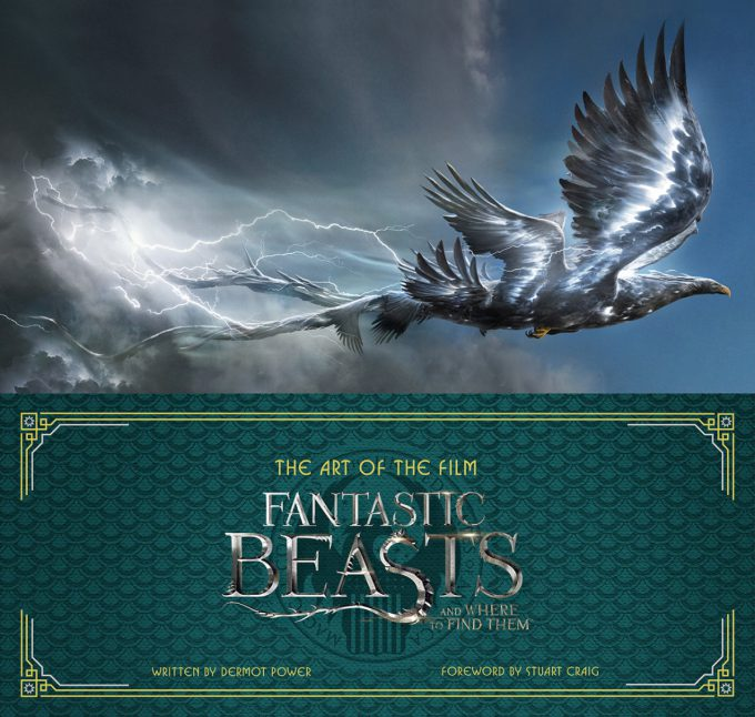 Art of the Film: Fantastic Beasts and Where to Find Them - Art Book Cover
