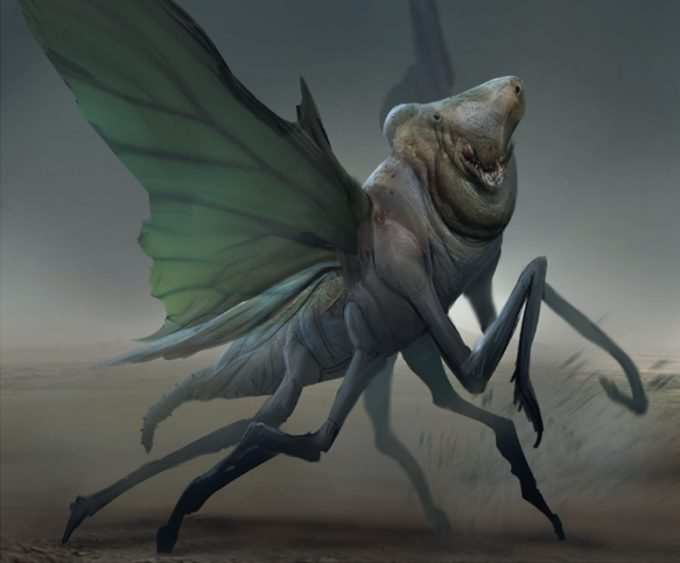 Art of the Film: Fantastic Beasts and Where to Find Them - Concept Art - Creature Design