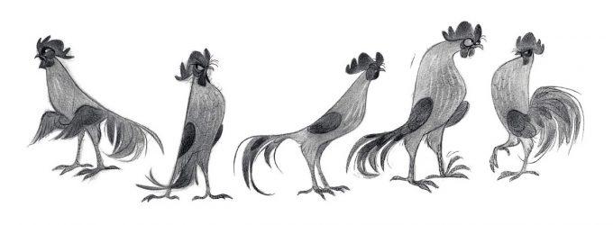 disney-the-art-of-moana-concept-art-illustration-07-annette-marnat-graphite-heihei