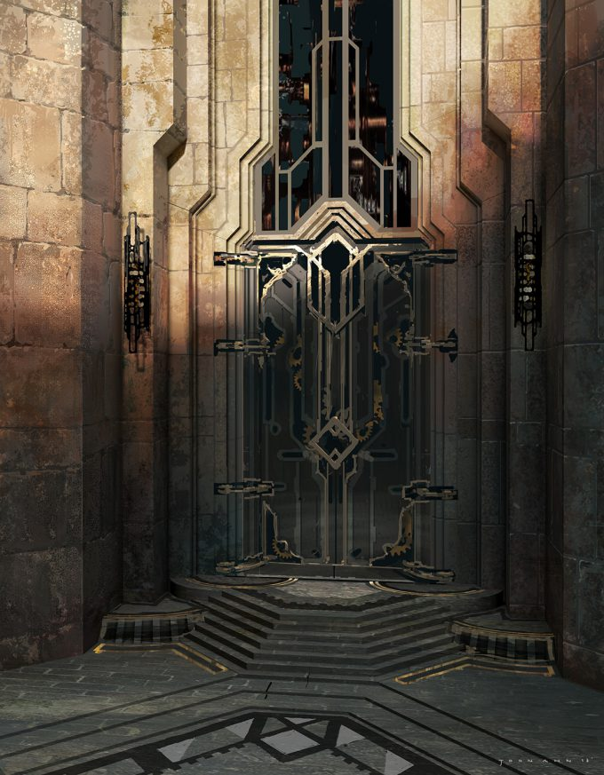 joon ahn concept art gate