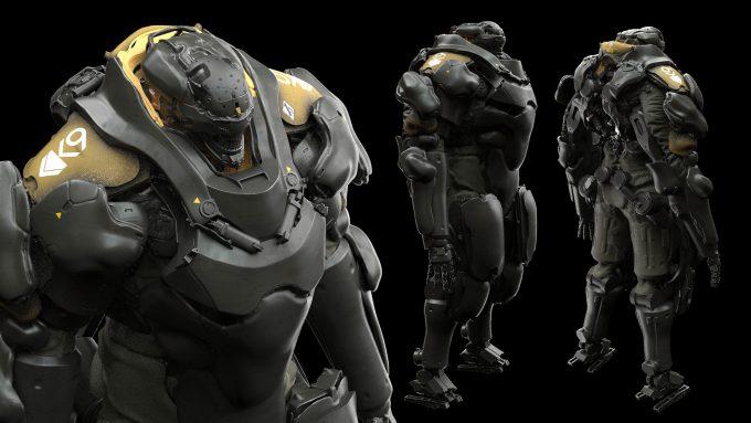 Alex Figini Character Design mech suit 01b