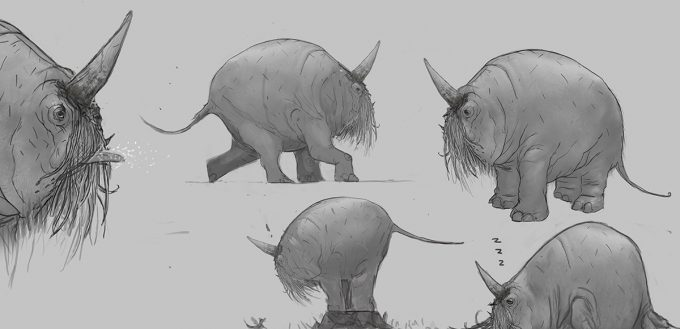 Fantastic-Beasts-and-Where-to-Find-Them-Concept-Art-DB-erumpent_movement_sketches_v003