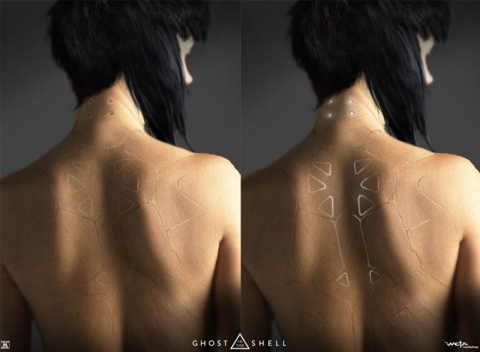 Ghost in the Shell concept art Andrew Baker Major Back Ports 02
