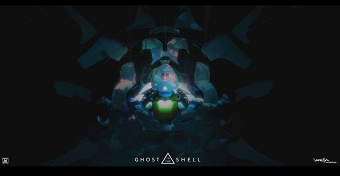 Ghost in the Shell concept art Andrew Baker Shelling Frame P2