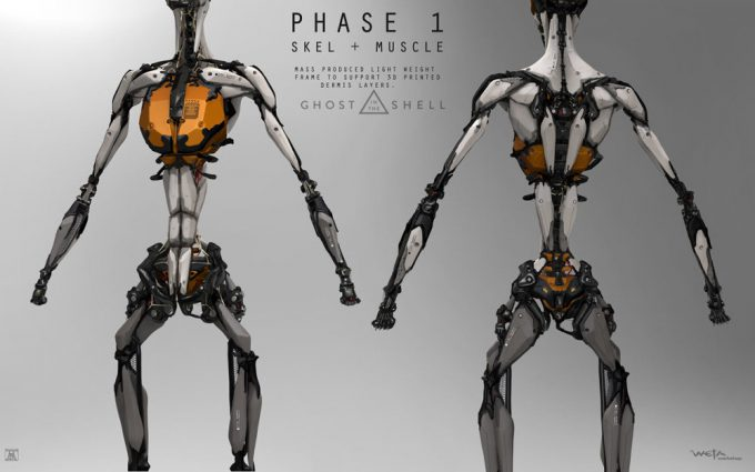 Ghost in the Shell concept art Andrew Baker Shelling p1