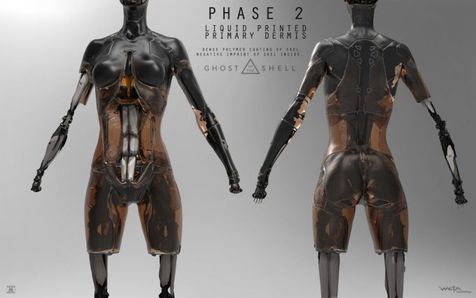Ghost in the Shell concept art Andrew Baker Shelling p2